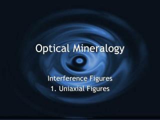 Optical Mineralogy