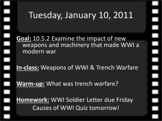 Tuesday, January 10, 2011