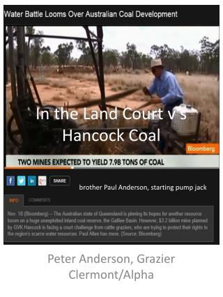 In the Land Court v's Hancock Coal