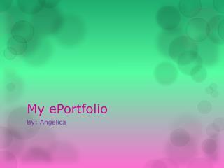 My ePortfolio