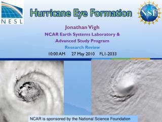 Hurricane Eye Formation