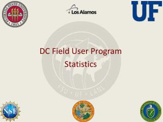 DC Field User Program Statistics