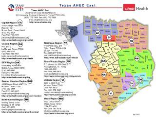 Texas  AHEC East