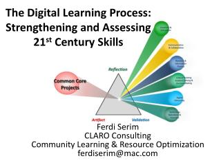 The Digital Learning Process: Strengthening and Assessing  21 st  Century Skills
