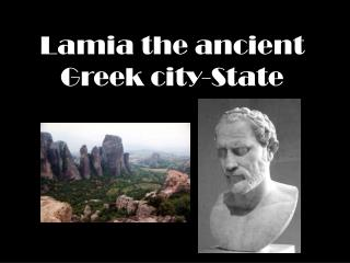 Lamia the ancient Greek city-State