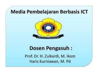 Prof. Dr. H. Zulkardi, M. Ikom Haris Kurniawan, M. Pd
