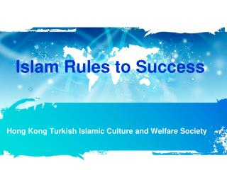 Islam  Rules  to  Success