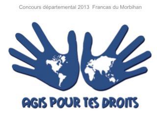 Concours  départemental 2013   Francas du Morbihan ·