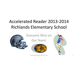 Accelerated Reader 2013-2014   Richlands  Elementary School