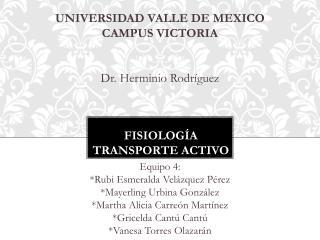 Fisiología transporte activo