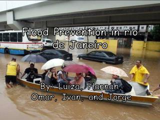 Flood Prevention in rio de Janeiro