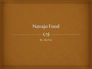Navajo Food
