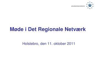 M�de i  Det Regionale Netv�rk