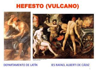 HEFESTO (VULCANO)