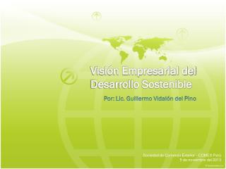 Visión Empresarial del Desarrollo Sostenible