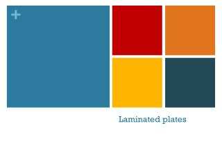 Laminated plates