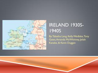 Ireland 1930s-1940s