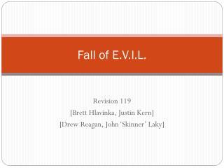Fall of E.V.I.L.