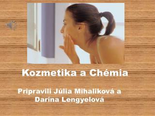 Kozmetika a Chémia