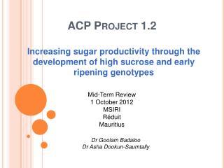 ACP Project 1.2