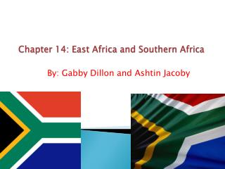 Chapter 14: East Africa and Southern Africa