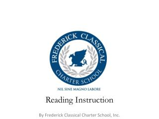 Reading  Instruction
