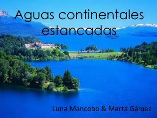 Aguas continentales estancadas