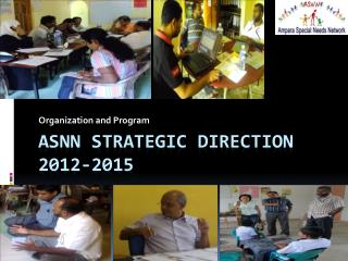 ASNN Strategic Direction 2012-2015