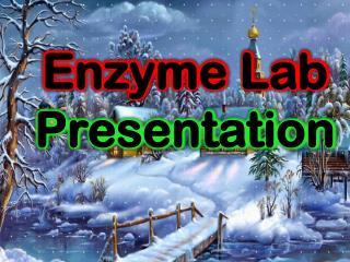 Enzyme Lab  Presentation