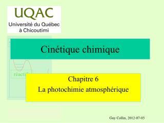 Cinétique chimique