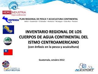 PLAN REGIONAL DE PESCA Y ACUICULTURA CONTINENTAL