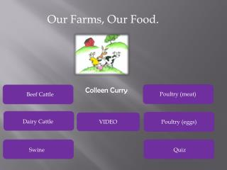 Our Farms, Our Food.