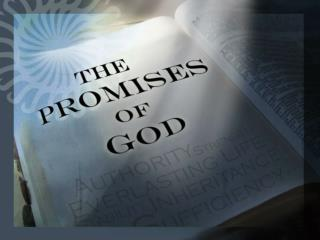 STANDING  ON THE PROMISES The Promise of Success and  Guidance Psalm  32