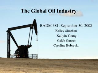 The Global Oil Industry