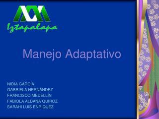 Manejo Adaptativo