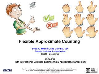 Flexible Approximate Counting