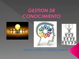 GESTION DE CONOCIMIENTO