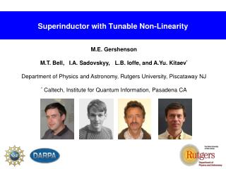 Superinductor with Tunable Non-Linearity