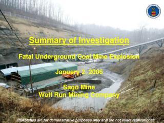 MSHA - Summary of Investigation - Sago Mine Disaster - 01022006