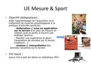 UE Mesure & Sport
