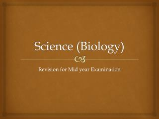 Science (Biology)