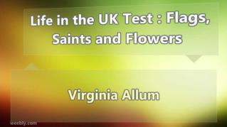 ppt 32261 Life in the UK Test Flags Saints and Flowers