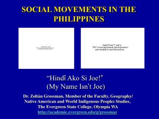 SOCIAL MOVEMENTS IN THE PHILIPPINES