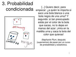 3. Probabilidad    condicionada