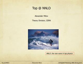 Top @ NNLO