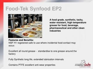 Food- Tek Synfood  EP2