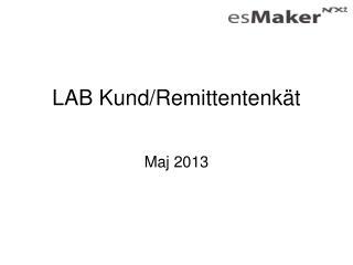 LAB Kund/Remittentenk�t