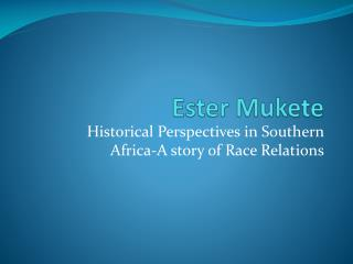 Ester  Mukete