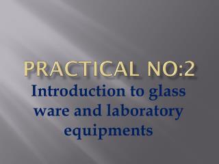 Practical no:2