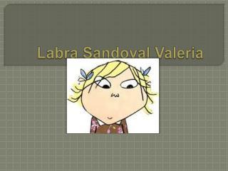Labra Sandoval Valeria